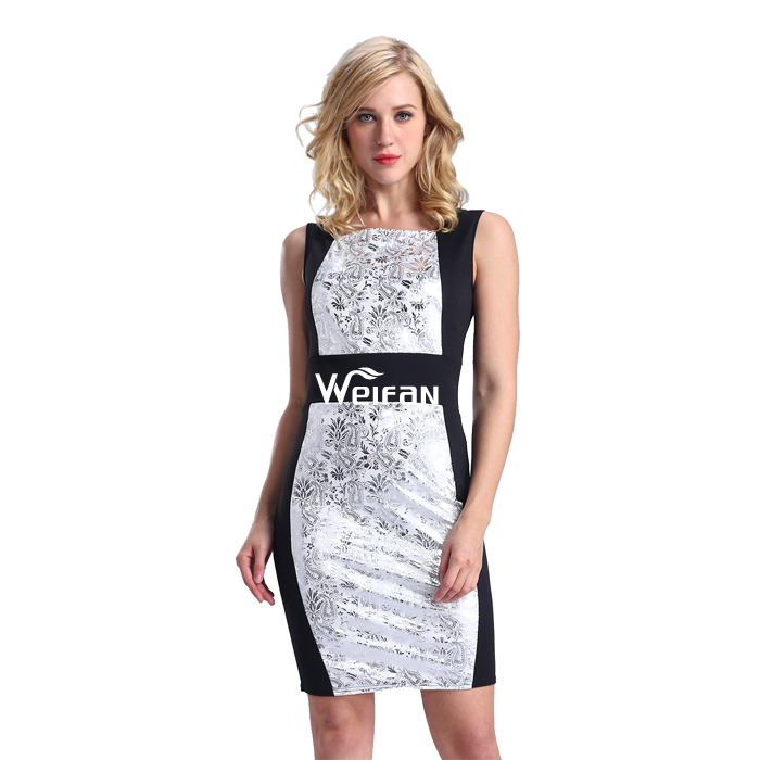 China Clothes Luxury Silver Color Fashion Bodycon Club Tall Tube Casual Women Sexy Dress