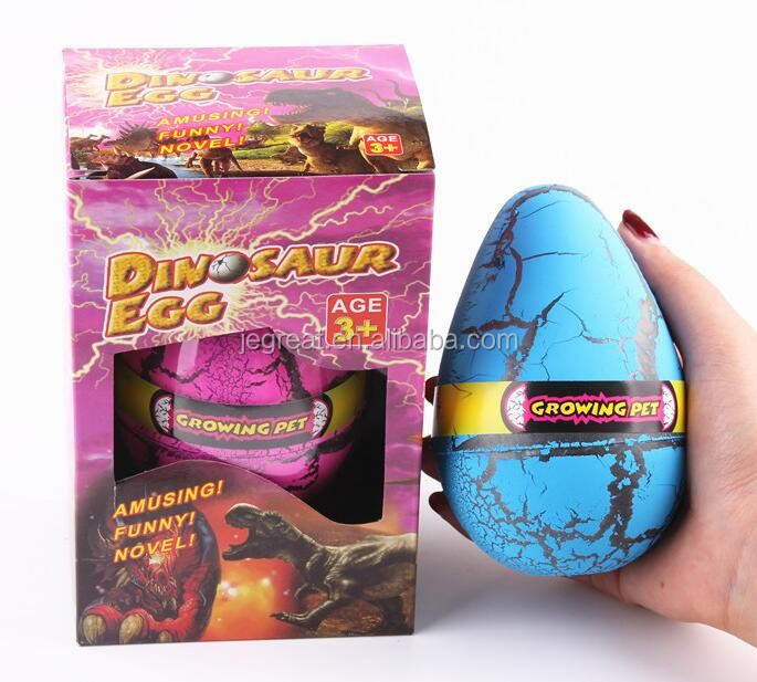 12*8CM big size water growing Hatching dinosaur egg toy water egg