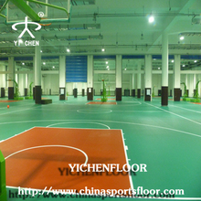 Polyurethane indoor pvc basketball sport floor