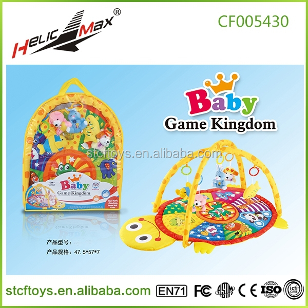 2015 OEM soft baby cushioned play mat baby play gym mat fisher price play mat with sides
