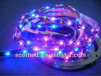 5V Addressable RGB LED Strip ws2811, IP65 Waterproof, WS2812B (WS2811), 30 Pixels per Meter;Black PCB;DC5V input;5m/roll