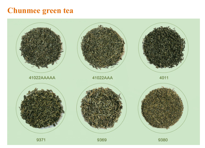 Bag Packaging and Green Tea Product Type tea fanning