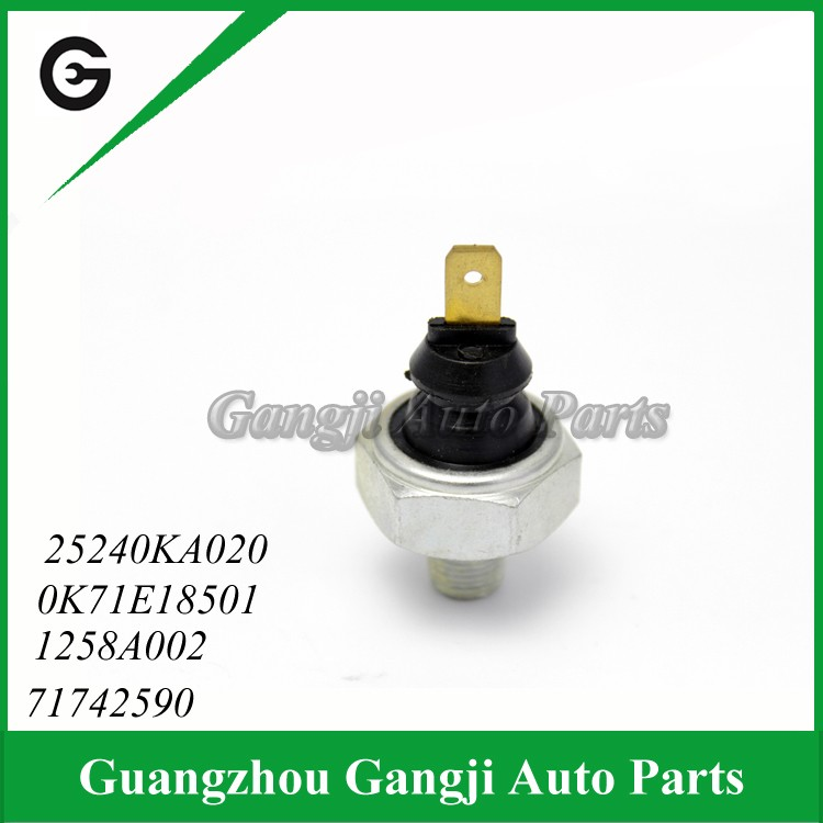 Diesel Rail Oil Pressure Switch Sensor Unit OEM 71742590 1258A002 0K71E18501 25240KA020 For Mitsubishi Nis-san Suzuki Toyota VW