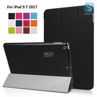 For APPLE iPad 9.7 2017 foldable pu leather smart cover tablet case