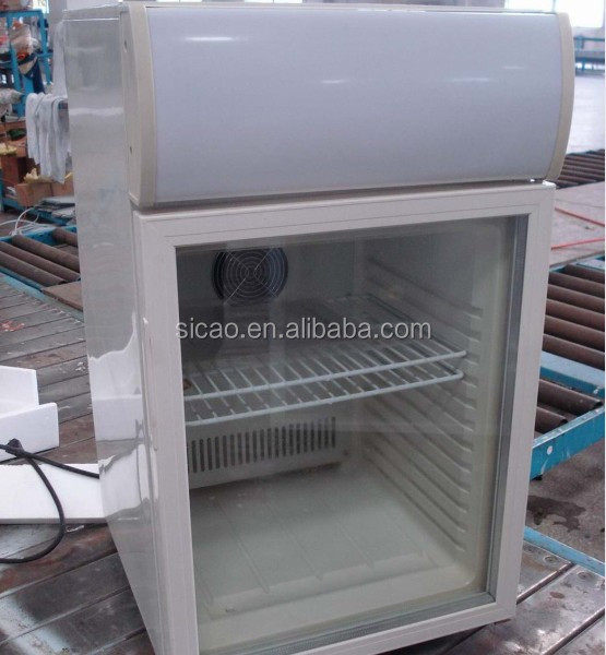 Commercial 20L Showcase glass door fridge for supermarket