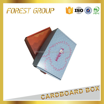 Luxury Customized color cardboard Packaging Box