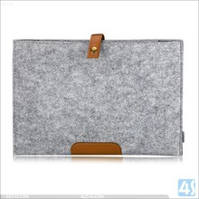 New luxury design felt sleeve for macbook 13.3inch,protective file holder felt case for macbook 12inch