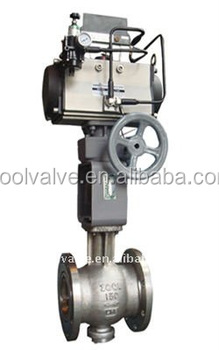 200E Eccentric Ball Valves with Segmental Ball Disc