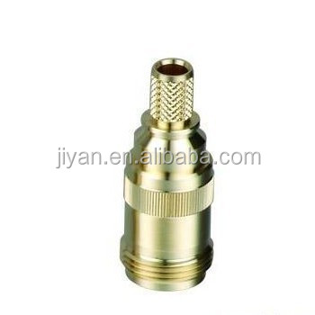 Brass SS303 male tube nuts connecting nut tube sleeve nuts hex round couplings