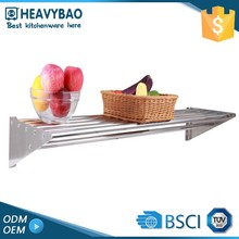 Heavybao 100% Warranty Knock-down Structure Rack Adjustable Curved Bathroom Shelf