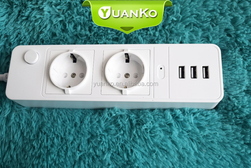 Travel outlet 250V vertical flashing socket/Tablet/mobile phone,5V 3.1A