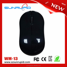 Flat Mini Laptop Convenient Use Cute Wireless Mice Computer Mouse