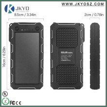 CUSTOMISED LOGO and PACKAGE 15000MAH Portable Solar power bank suitable for mobile phones