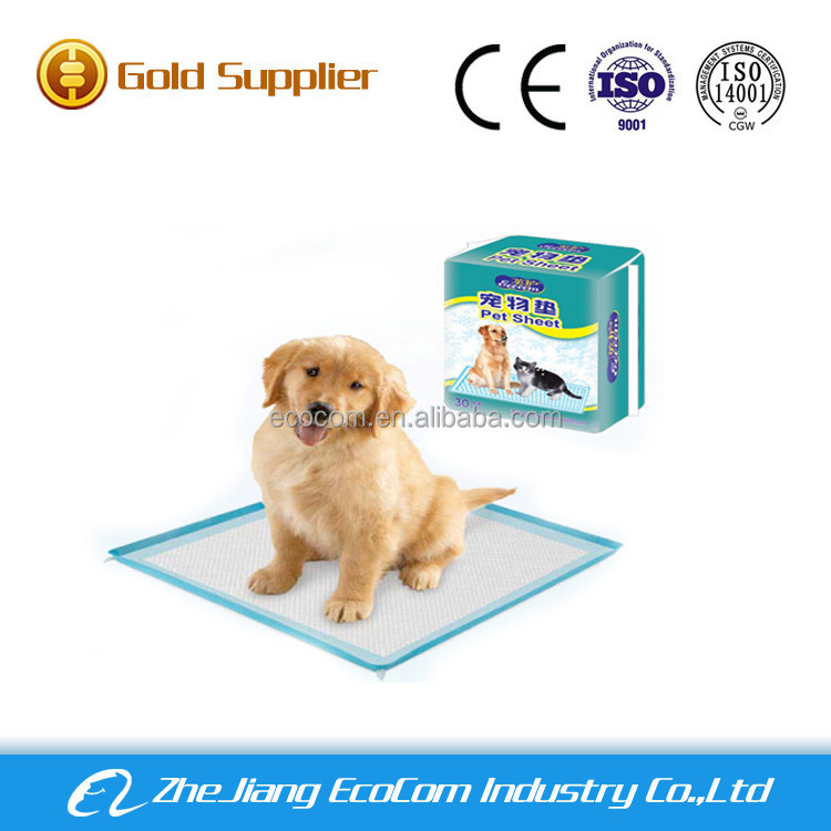 dog and cat super absorbent pet training pads dog pee pads