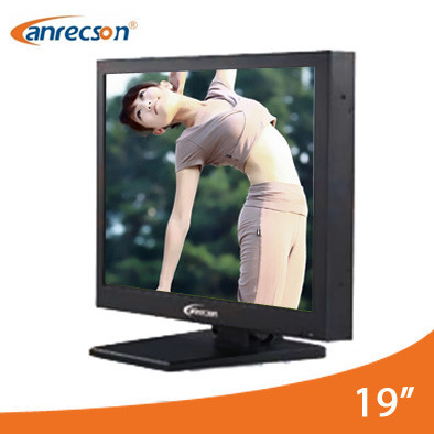 Industrial rugged security 19 inch CCTV monitor