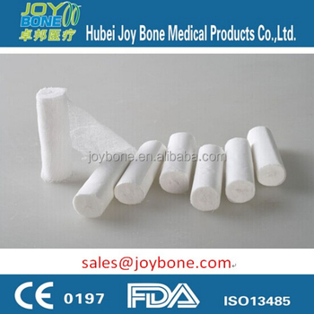 CE & ISO Approved Surgical Gauze Roll, Gauze Bandage, Gauze Roll