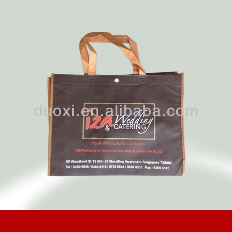 Eco-friendly non woven new design your own logo tote bag for packing 100% manufacturer