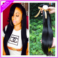Wholesale hot 18inch 20inch 22inch brazilian straight hair weave bundles