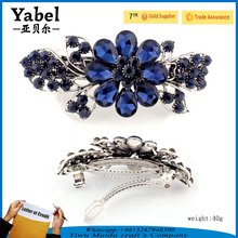 Best price women headband titanic butterfly hair comb crystal tiaras crowns for bridal