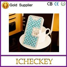 2014 hot sale rhinestone bling cell phone case cover