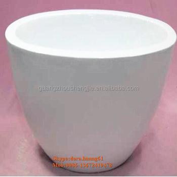 Sjh1491602 Large Decorative Plant Pots Indoor White