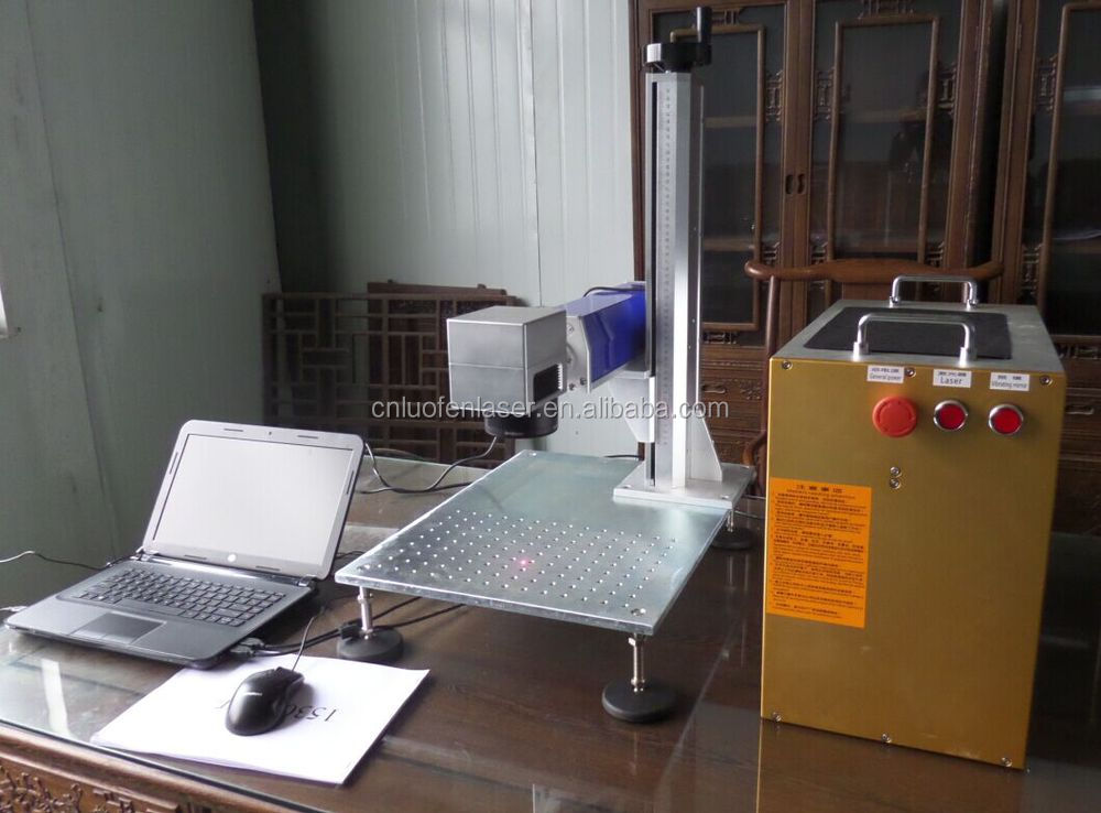 Philicam 30W Fiber Metal Laser Label Marking Machine for Logo