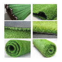 Landscaping Use Garden Decorative PP+PE 10~50 mm Height artificial grass