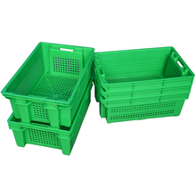 Cheap good quality fruits plastic crates stackable and nestable crate