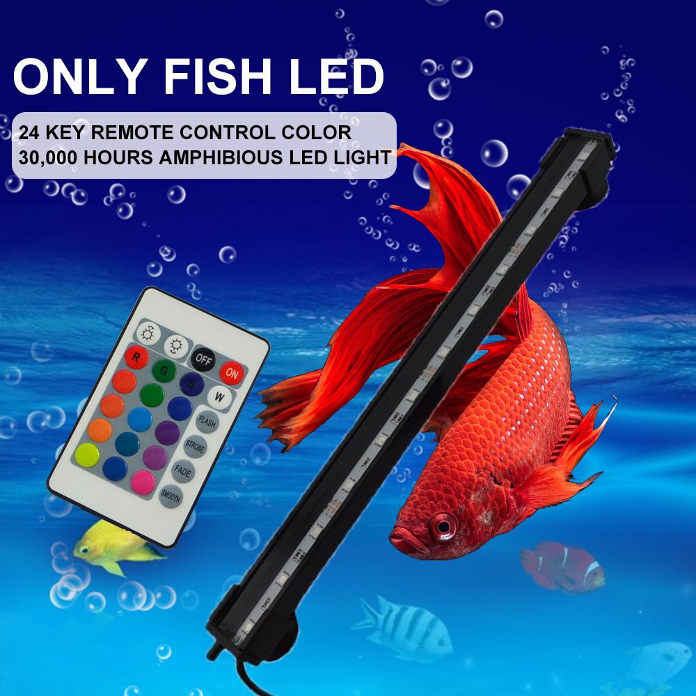 Remote Control Freshwater Led Bubble Aquarium Light For Fish ...