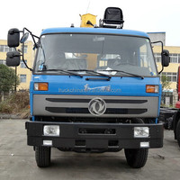 China DONGFENG small mobile hydraulic truck crane crane truck for sale