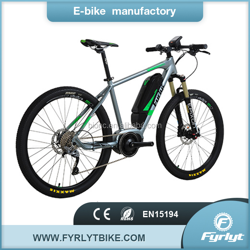 Chinese cheap dirt e bike 250W bafang mid drive 10 speed sport mtb bycicle