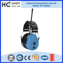 WHC-RA200 CE and ANSI electronic hearing protector passive sound proof ear muff with radio