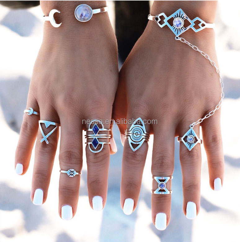 Fashion Finger Ring Designs For Girls Wholesale HZS-0162