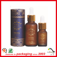 Essential oil Paper Tube Packing Box for 30ml Bottles