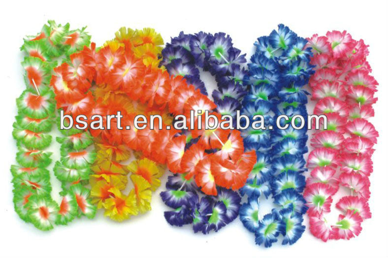 Party supply hawaii silk artificial lei