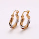 26393 New Latest Beautiful 3 gram Gold Plated Earrings Designs For Girl Women, Fashion Fake Earrings
