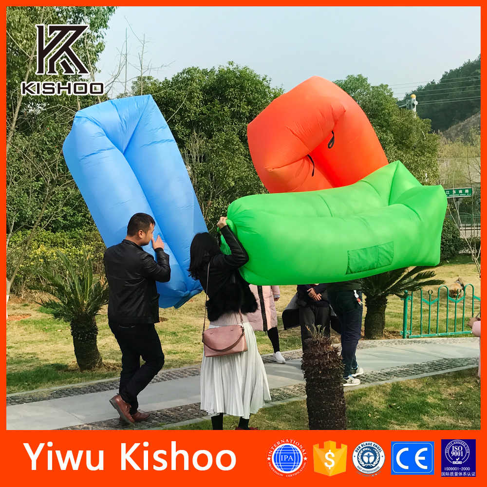 New Year 2017 Camping Outdoor Inflatable Air Sofa, New Model Sofa Folding Inflatable Couch