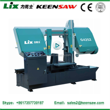 Hydraulic manual metal band saw machine large band saw for sale G4252