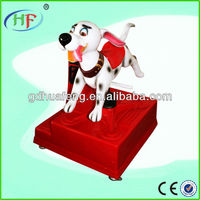 2013 hot coin operated kids game Dalmatian HF-KR1402