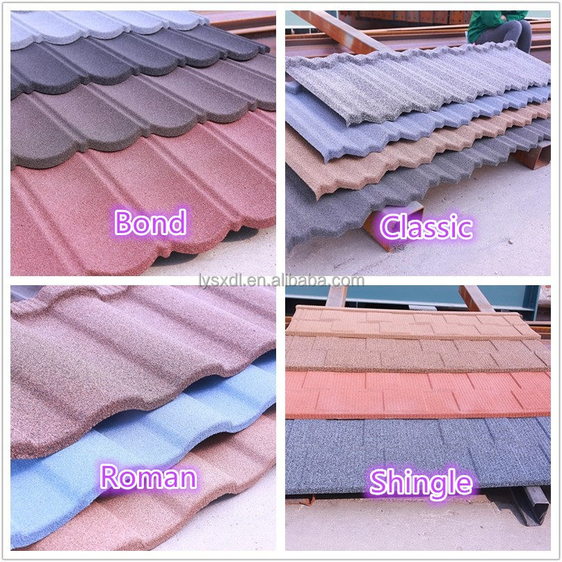 2016 new style! China Factory new release sandwich tile roof Hot sale in Africa