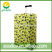 Cheap price foldable waterproof luggage cover and stylish luggage cover