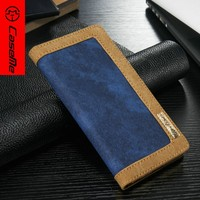 Factory Price New Custom Luxury Leather Wallet Flip Stand Case for iphone 6