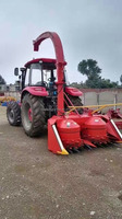 Tractor mounted napier grass silage harvester cow feed grass cutter machine price