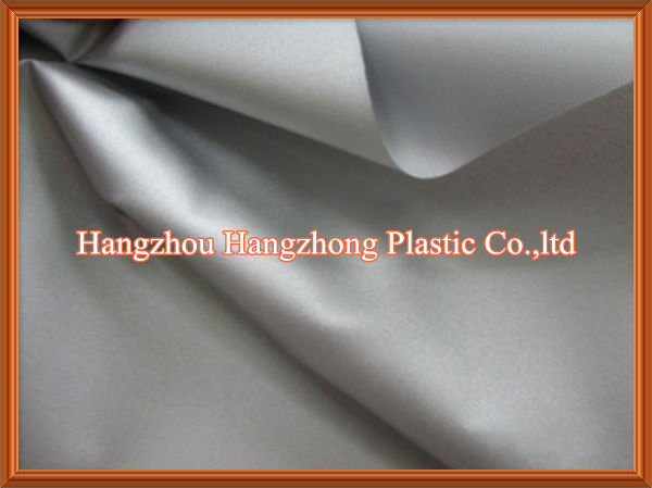 Silver Coating Polyester Waterproof Cover Fabric for Car/Boat/Yatch