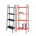 4 Tier Colorful Ladder Wall Shelf Home Storage/Display Unit Bookcase Stand Bedroom