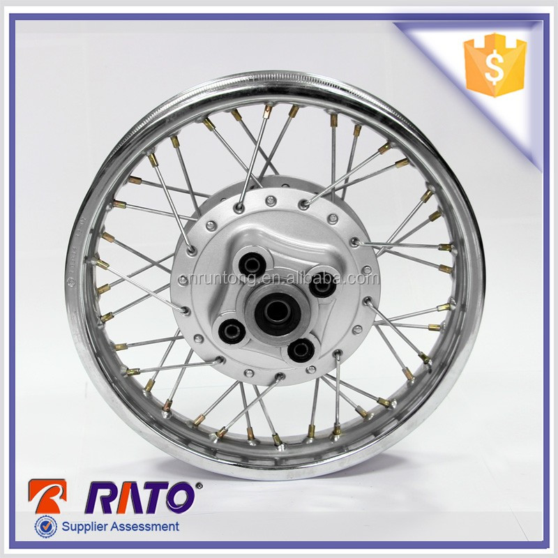 For dirt motorbike chrome plated motorcycle used wheels