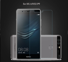 9H 2.5D clear smart phone tempered glass screen protector for Huawei P9
