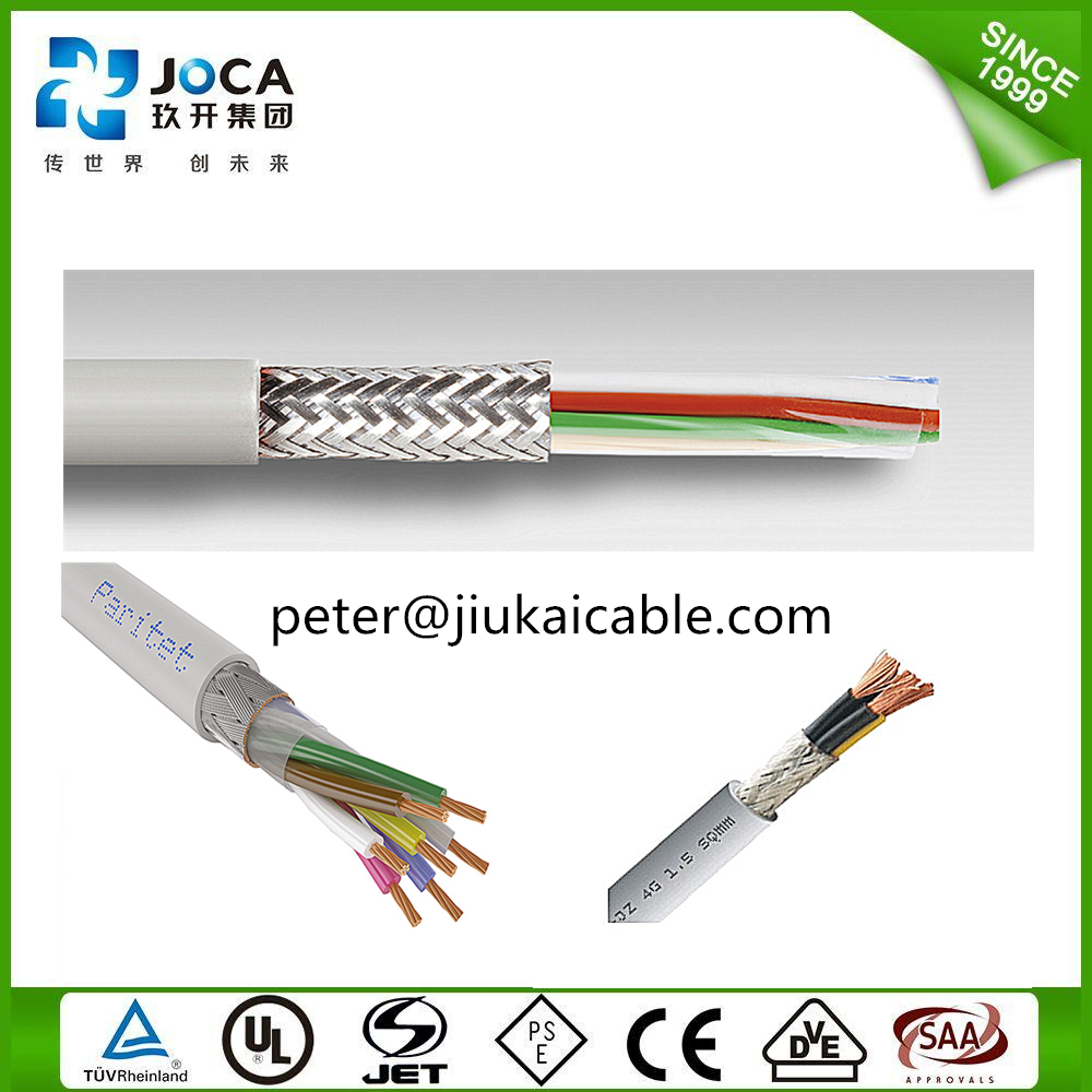 PVC 0.5mm2 Copper Conductor 300/500V Liycy Data Cable