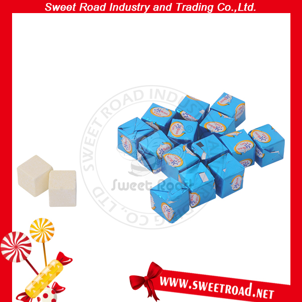 Cream Cube Milk Tablet Sweet Square Creamy Candy