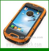 waterproof rugged smartphone S09 ,3G Android dual sim cell phone with GPS,Walkie-Talkie